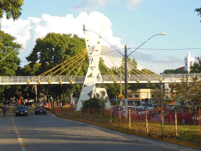Passarela de Pedestre - Praça Concórdia em Resende/RJ